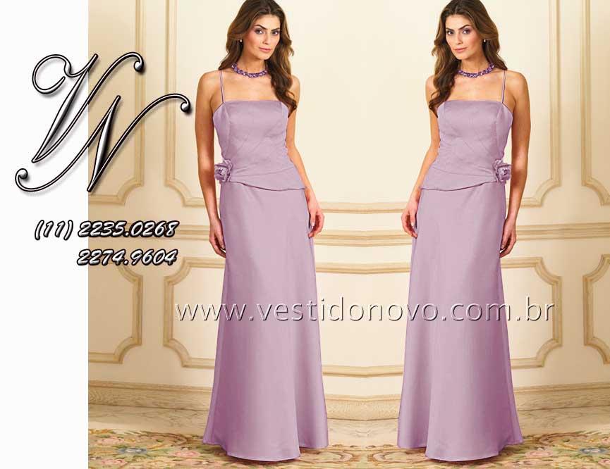 cb118b4be9bff Vestido Madrinha de casamento, primeiro aluguel ou compra na aclimação,  vila mariana. vestido lilas madrinha de casamento - São Paulo sp ...