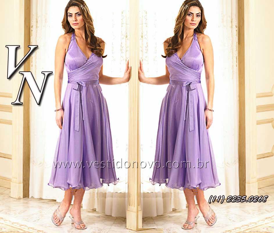 4bda2fa2b7a72 vestido longuete madrinha de casamento lilás , (11) 2274-9604 , Ipiranga,