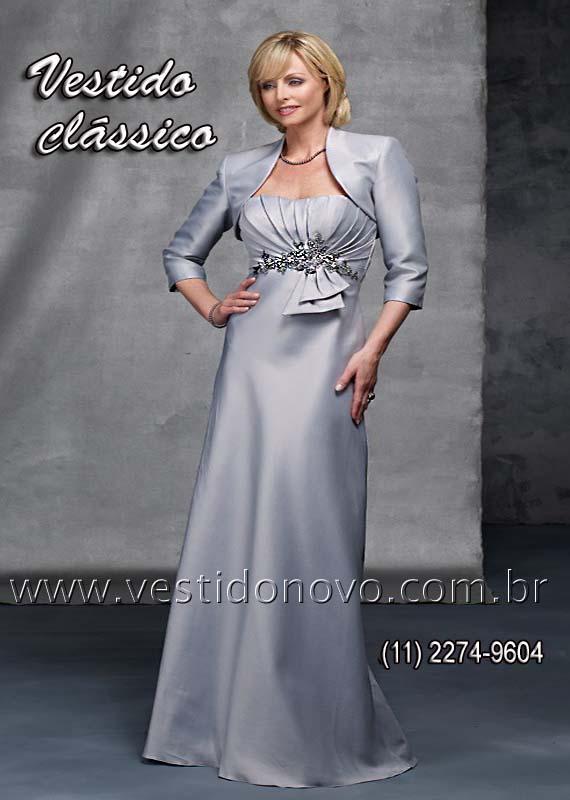 fadf07e7e668 vestido bodas de prata, mae de noiva com bolero e manga loja em São Paulo