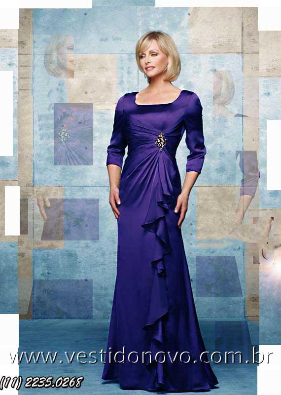 f42f1e090d300 vestido azul madrinha casamento importado em cetim somente primeiro aluguel  aclimação