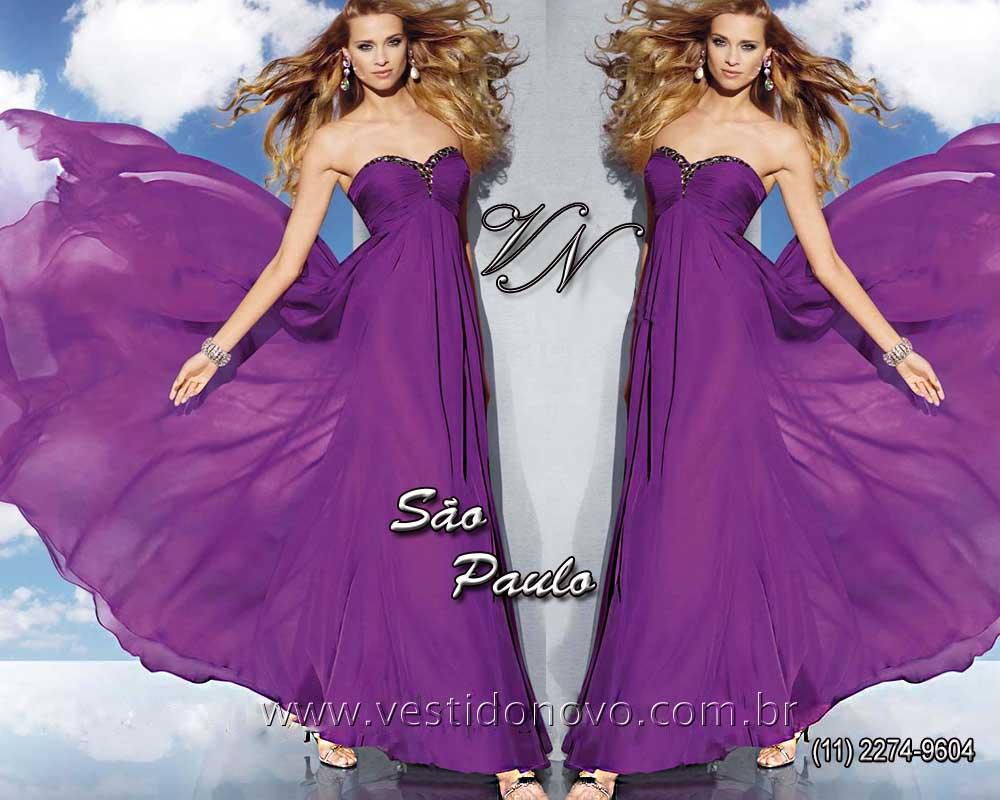 8e738efb09807 Vestidos Plus size para Gordinhas pronta entrega cor violeta , vestido  tamanho grande loja em São