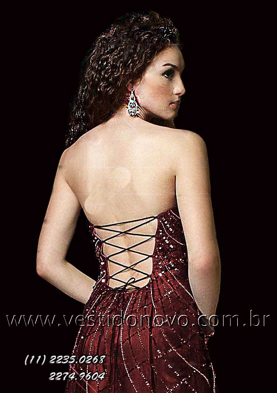 44b55707a Vestido de Festa longo, Formatura bordado com pedraria muito brilho ...