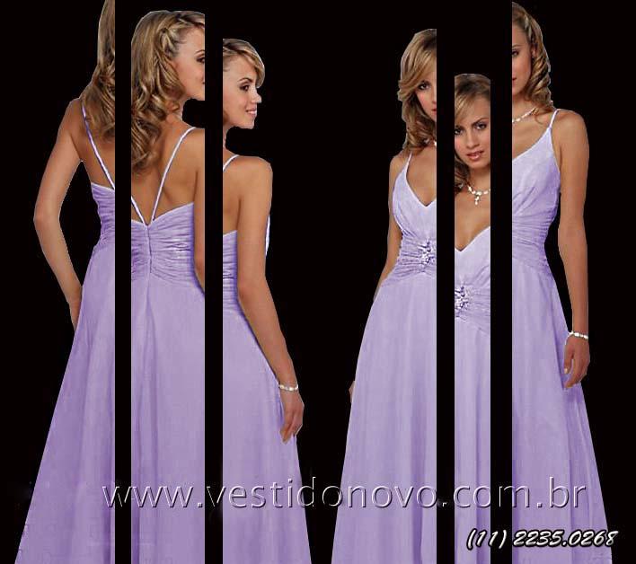 8af8ae321 Vestido longo para convidada de Festa somente 1º aluguel ou Compra ...