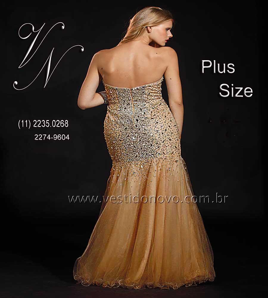 656a0ce98 vestido de formatura festa longo sereia, plus size tamanho grande nude ,  aclimação, vila