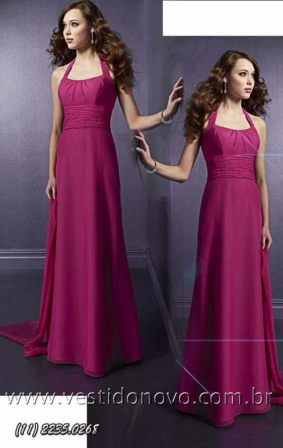 ed46b6a28425f vestido madrinha de casamento na cor rosa pink agende sua visita (11) 2274-